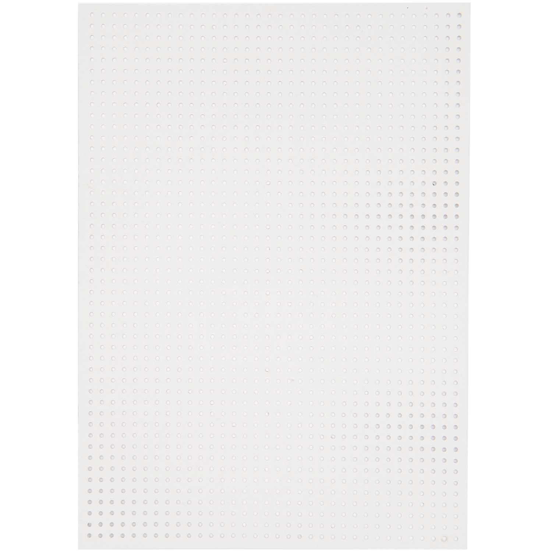paper poetry stickkarton kleine l cher wei 17 5x24 5cm 10 bogen wolle r del. Black Bedroom Furniture Sets. Home Design Ideas