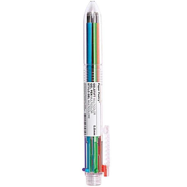 Paper Poetry mehrfarbig Gelstift mehrfarbig 6 Stück