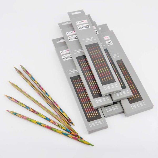 KnitPro Nadelspiel 20cm Holz