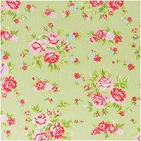 Rico Design Stoff Blume grün-rosa 160cm