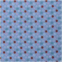 Rico Design Druckstoff grafisches Muster blau 140cm