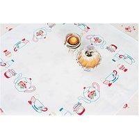 Rico Design Stickpackung Decke Frühstückstisch 90x90cm