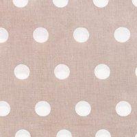 Rico Design Stoff Punkte kitt-weiß 50x160cm