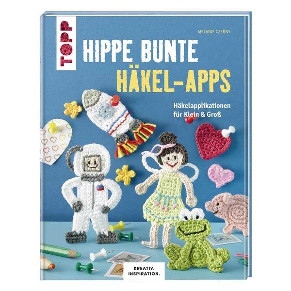 TOPP Hippe mehrfarbige Häkel-Apps