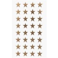 Paper Poetry Sticker Sterne gold 13mm 4 Bogen