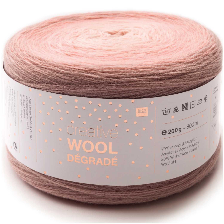 20 % Rabatt auf Creative Wool Dégradé