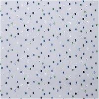 Rico Design Druckstoff grafische Punkte hellblau 140cm