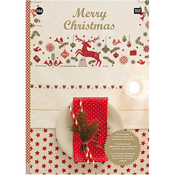 Rico Design Stickbuch Merry Christmas Nr.146