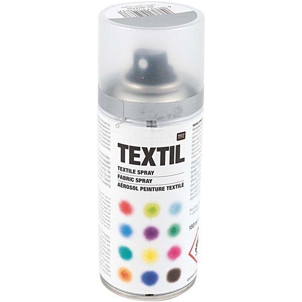 Rico Design Textil Spray silber 150ml