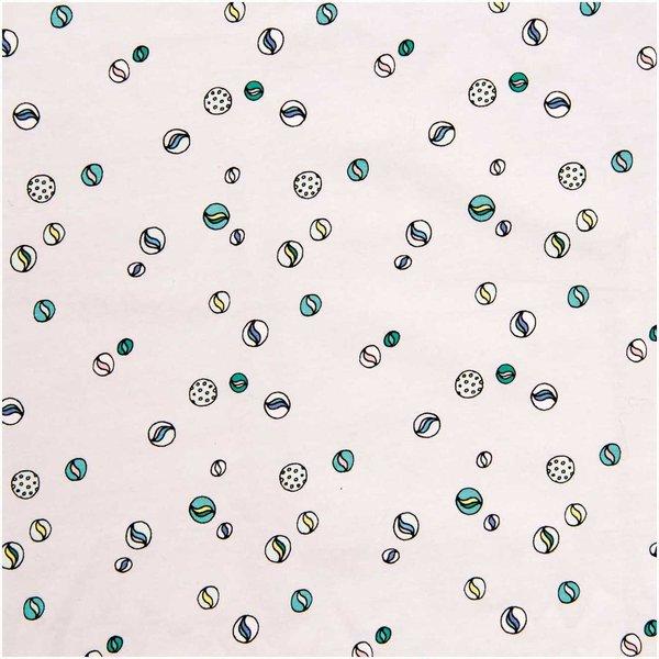 Rico Design Jerseystoff Murmeln grau 145cm