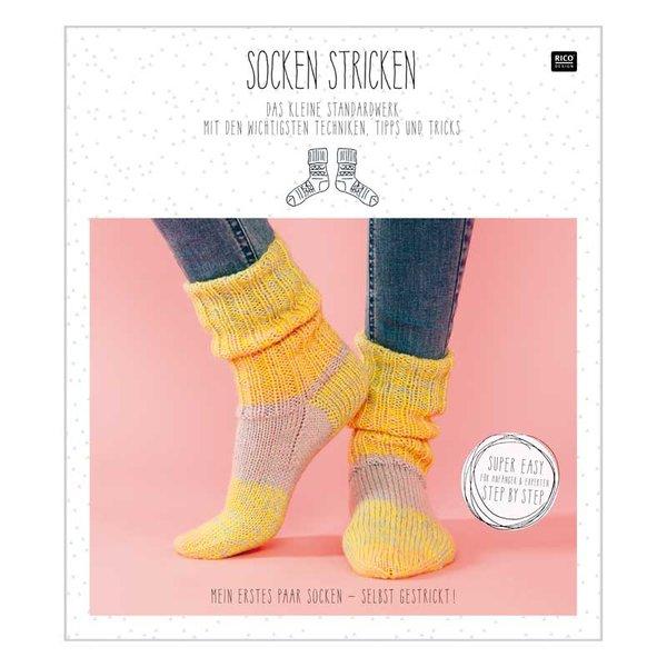 Rico Design Socken stricken - Das kleine Standardwerk